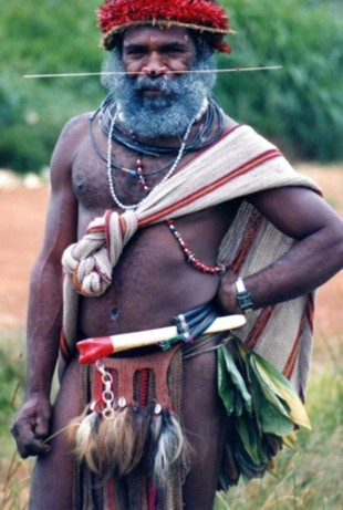 Papua New Guinea traditional dress