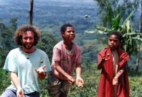 juggling in Papua New Guinea