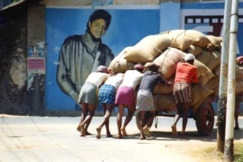 Michael Jackson, Cochin, India