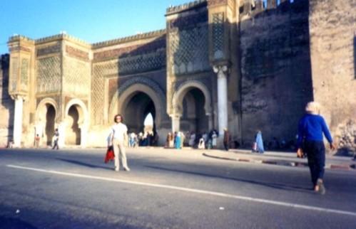 Marakkesh, Morocco old city walls