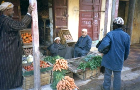 Morocco food vendors