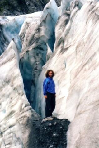 glaciar South Island New Zealand