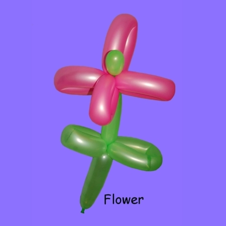 Flower balloon twisting