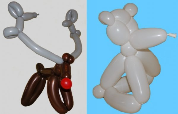 Christmas theme balloons