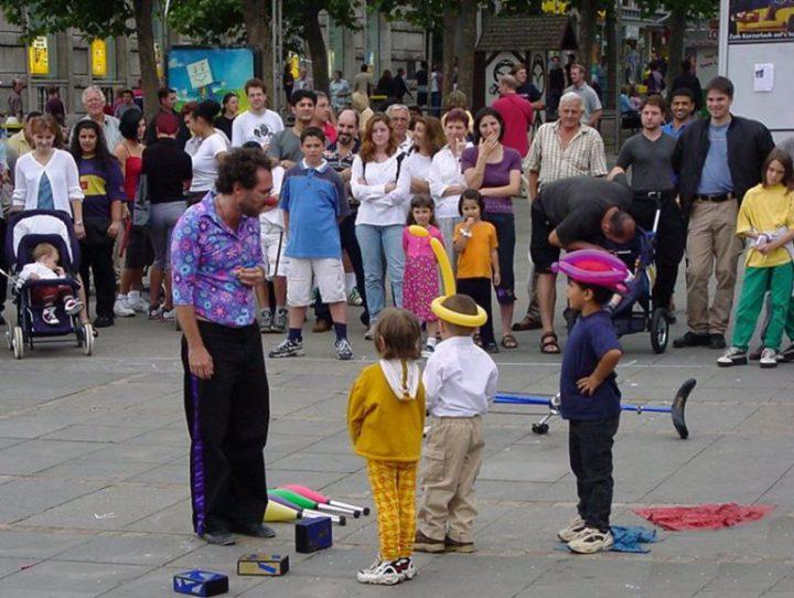 Clown Stuttgart Unterhaltung buchen
