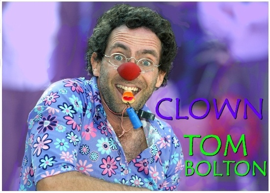 Clown Tom Bolton promo photo