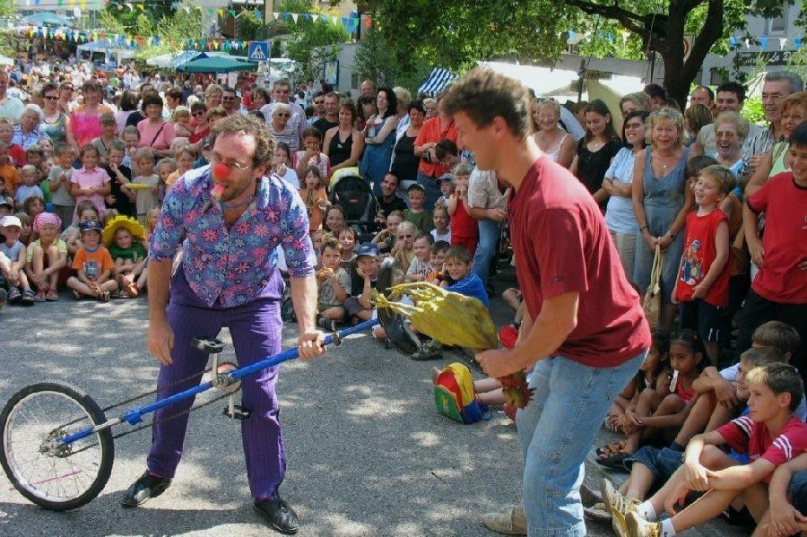 Clown Unterhaltungskünstler für Feier, Festivals und Events