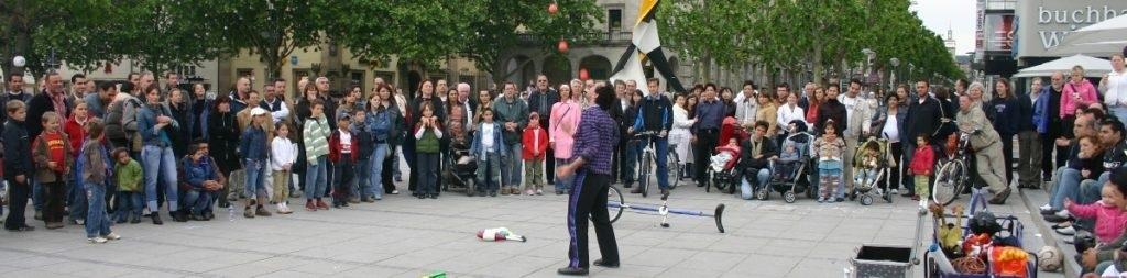fan page Clown Tom Bolton in Stuttgart